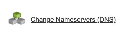 Change the nameservers for your blog